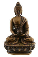Soprammobile Tibetano Dhyani Budda Amitabha IN Resina Beige 11cm- 3140 Bte 4