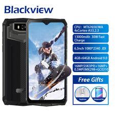 """6,3"""" Blackview BV9100 13000mAh Smartphone 4GB 64GB IP68 teléfono móvil 16MP NFC"""