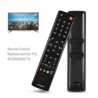 TV Televisor Mando a Distancia Control Remoto Reemplazo para TCL RC3000E02 Set