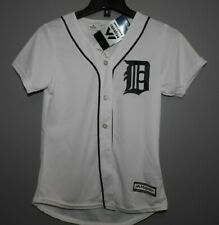 MLB Authentic Detroit Tigers Home Baseball Jersey New Womens Size MD