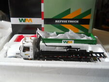 First Gear Waste Management Mack Roll off Refuse Truck 1:34 10-4050