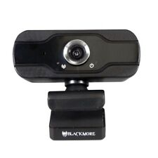 Blackmore USB 1080p Webcam W/ Built In Microphone Wide Angle Lens & Tilting NEW