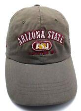 ARIZONA STATE UNIVERSITY / KARSTEN GOLF COURSE taupe adjustable cap / hat
