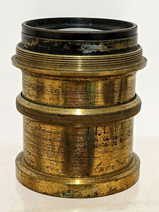 Vintage Brass Camera / Photography Lens - Koristka Milano Zeiss Anastigmat ??