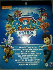 Paw Patrol Reward Stickers 276