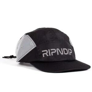 Genuine Rip N Dip Nerm Flight Camper Hat - Black (One Size)