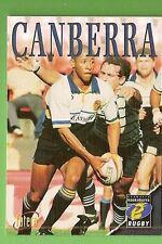 1996 RUGBY UNION  CARD #77 CLUB CARD, CANBERRA