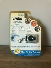 Vivitar Mini Digital Camera With Accessory Kit - Still/Video/Web Camera