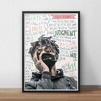 Rap Khalid Poster Free Spirit Print American Singer Wall Art A5 A4 A3