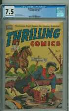 THRILLING COMICS #77 CGC 7.5 OW/WH PAGES