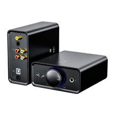 FiiO Desktop USB DAC and Headphone Amplifier (Black)