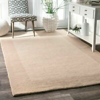 nuLOOM Coastal Contemporary Hand Tufted Paine Beige Area Rug