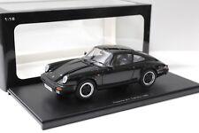 1:18 Autoart Porsche 911 Carrera 1988 Black G-MODELLO NEW PER Premium-MODELCARS