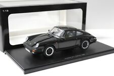 1:18 AUTOart Porsche 911 Carrera 1988 black G-Modell NEW bei PREMIUM-MODELCARS