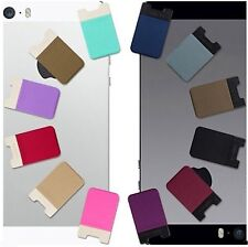 Cell Phone Pouch Basic 3 Highly Elastic Fiber Card Holder Smartphone [Sinjimoru]