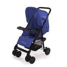 Crown St117 Compact Buggy Blue Children's Sport Stroller Travel Pushchair