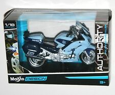 Maisto - 'POLICE' YAMAHA FJR1300A (Blue) - Motorbike Model Scale 1:18