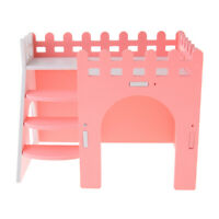 Pet Small Animals Hideout Hamster House Deluxe Guinea Pig Hut Play Toy