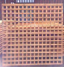 Lattice Trellis 6ft x 6ft Fully Framed HEAVY DUTY DOUBLE BACKED HIGH QUALITY.