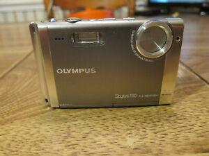 Good Working Olympus Stylus 730 7.1 MP Mega Pixel All Weather Digital Camera