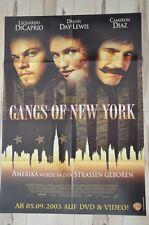 Filmposter Filmplakat A1 DINA1 - Gangs of New York - Leonardo DiCaprio - Neu