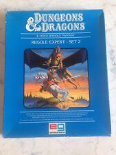 Dungeons & Dragons  REGOLE EXPERT, SET 2 OTTIME CONDIZIONI, completo