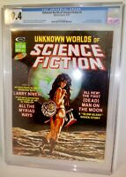 Unknown Worlds of Science Fiction # 5 CGC 9.4 Marvel / Curtis 1975 Larry Niven