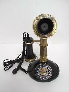 Beautiful Primitive Working Candlestick Phone