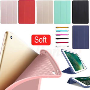 """Smart Case Leather Stand Cover For iPad 7/8/9th Gen 10.2"""" Air 4 Mini Pro 11 2021"""