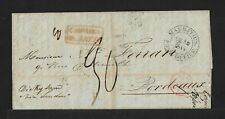 MAURITIUS TO FRANCE TAX DUE COVER 1845
