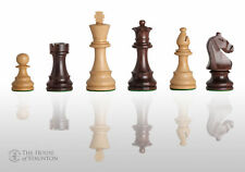 "The Noble Chess Set - Pieces Only - 3.75"" King - Indian Rosewood"