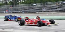 1980 Ferrari 312 T5 & Tyrrell Formula 1 Grand Prix Vintage Race Car Photo CA0605