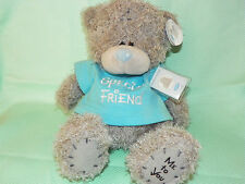 Me To You peluche ourson 20 cm assis *-* SPECIAL AMI *-* T shirt bleu vert