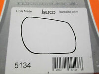 MAZDA 3 MAZDA 6 FITS RIGHT PASSENGER SIDE BURCO MIRROR GLASS # 5134