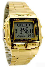 Casio DB360G-9A Mens 30 Page Databank Watch 13 Languages 10 Year Battery New