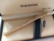 Vintage Sheaffer Traga Fountain Pen GOLDELECTROPLATED AUST  Excellents  💥 💯%