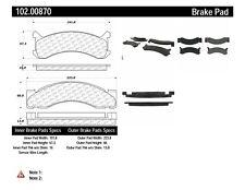 C-TEK Metallic Brake Pads-Preferred fits 1973-1974 Dodge RM400 M350  C-TEK BY CE
