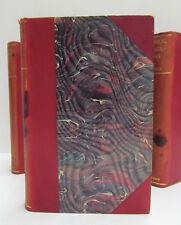 CHARLES DARWIN 6 Vol. Set. Appleton's Authorized Ed Illustrated HC Leather 1896