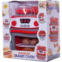 Kids Children Pretend Play Kitchen Oven Cooker Realistic Playset Toy Christmas