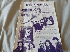 More details for deep purple darker than blue fanzine #41 may 1991
