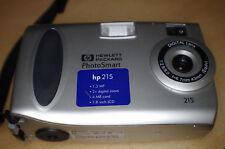 Cámara Digital Hewlett Packard Foto Smart 21 con 4 MB tarjeta de memoria de Plata