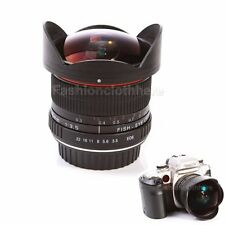 8mm f/3.5 Super Wide Angle Aspherical  Fisheye Lens For Canon 750D 760D 7DII 5DS