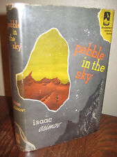 Pebble In The Sky Isaac Asimov Science Fiction 1st Edition First Printing 1950
