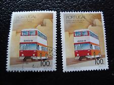 PORTUGAL - timbre yvert et tellier n° 1768 x2 obl (A28) stamp