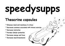Theacrine 100mg VEGGIE capsules energy stimulant  mood motivation nootropic