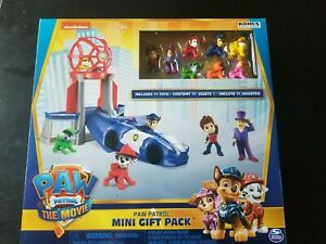 Paw Patrol The Movie Mini Tower Pack includes Mayor Humdinger New