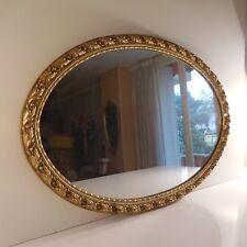 Miroir médaillon napoléon empire renaissance belle époque fait main France