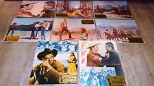charles bronson JUBAL glenn ford  rare photos cinema lobby cards western 1955