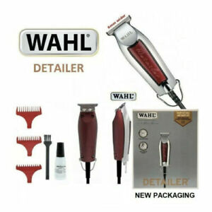Wahl Corded Professional Detailer Hair Trimmer Grooming Set Extra Wide T Blade