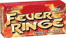 Jugend Feuerwerk NICO® Feuer-Ringe 1 Pack 10Stück sprühende Feueringe
